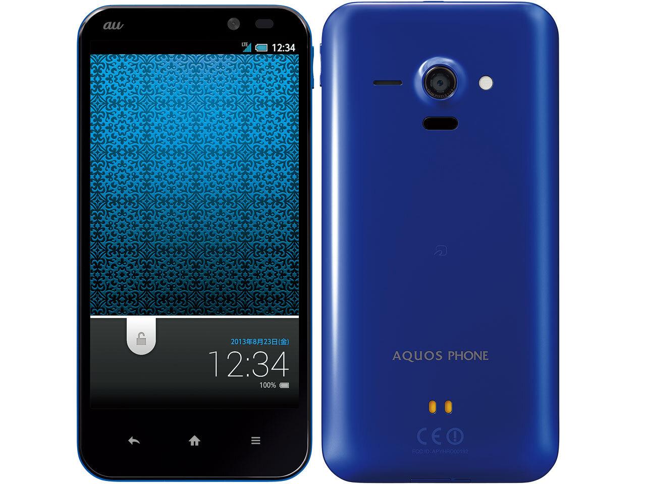 Au by KDDIから「AQUOS PHONE SERIE SHL22」が登場!スペックや価格・発売日情報