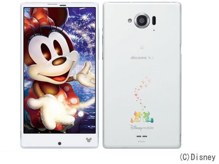 NTTドコモから「Disney Mobile on docomo SH-02G」が登場!スペックや価格・発売日情報