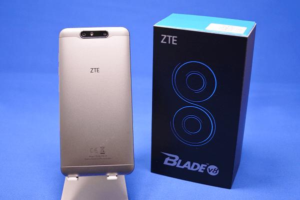 ZTE BLADE V8の開封レビュー!デュアルカメラや高画素インカメラ搭載!