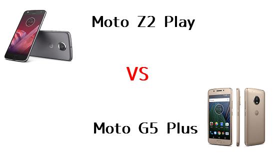 Moto Z2 PlayとMoto G5 Plusはどちらが良いのか違いを比較!