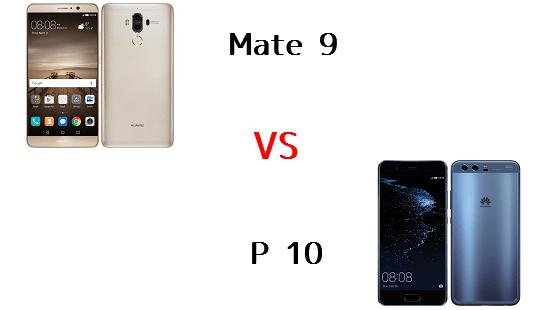 楽天モバイルMate9とHUAWEI P10はどちらが良いのか違いを比較!