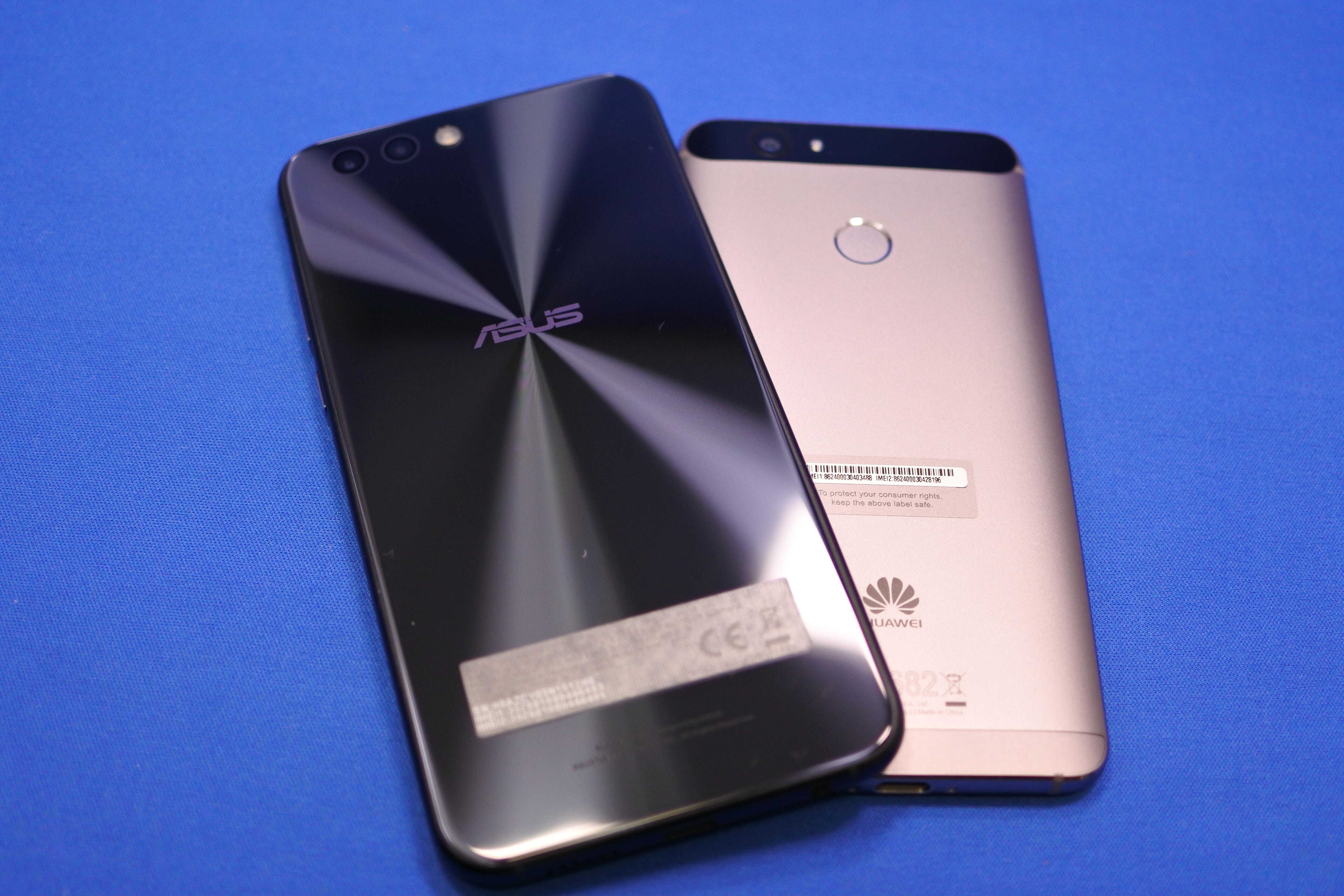 ZenFone 4とHUAWEI novaはどちらが良いのか違いを比較!
