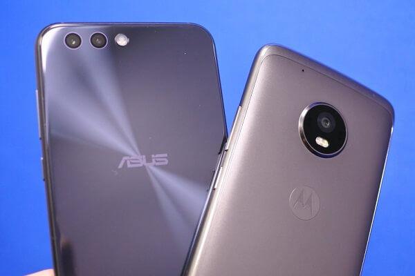 ZenFone 4とMoto G5 Plusはどちらが良いのか違いを比較!
