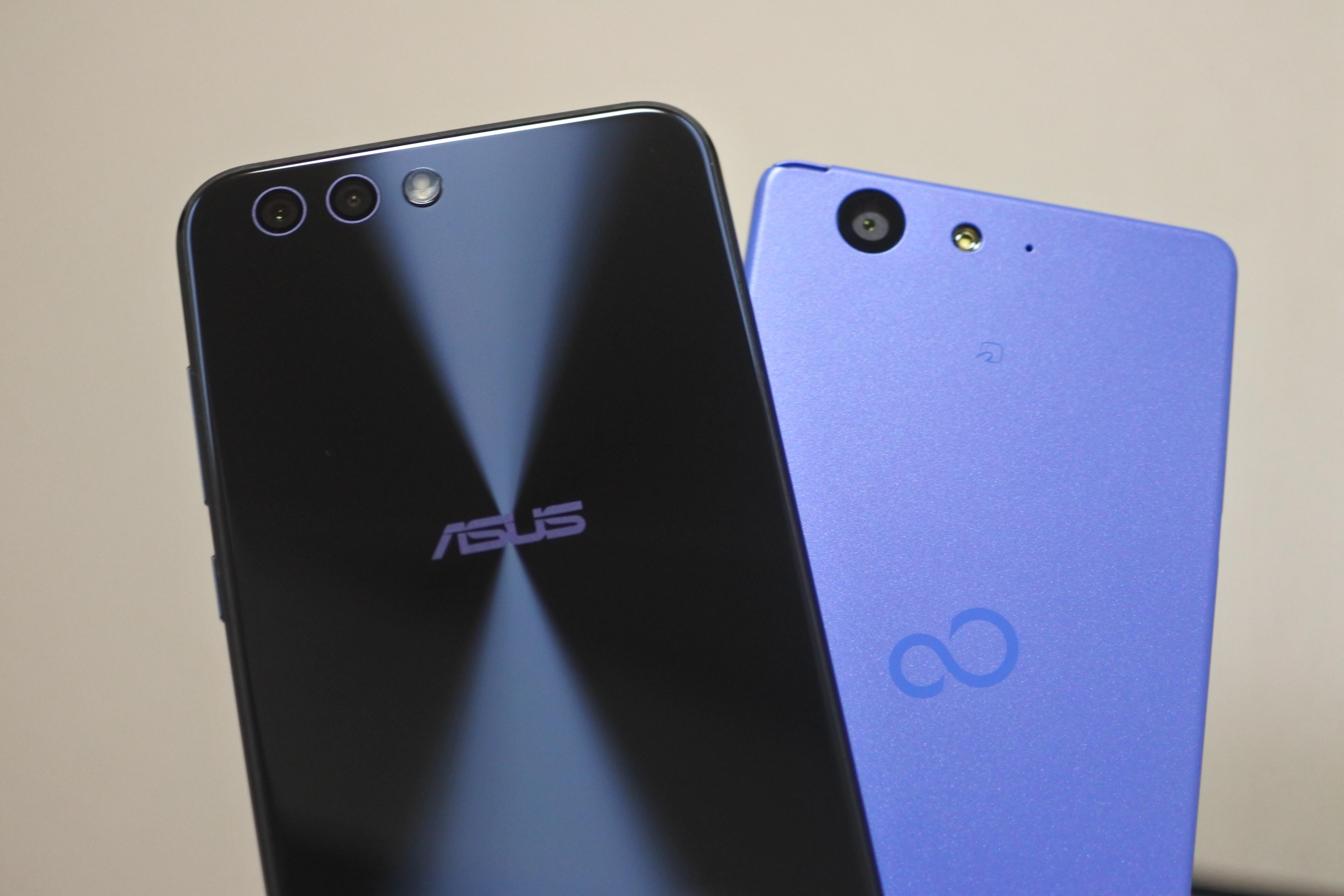 ZenFone 4とarrows M04はどちらが良いのか違いを比較!