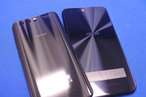 「honor9」と「ZenFone4」のスペックの違いを比較!