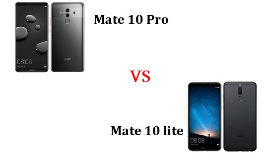 Mate 10 ProとMate 10 liteはどちらが良いのか違いを比較!
