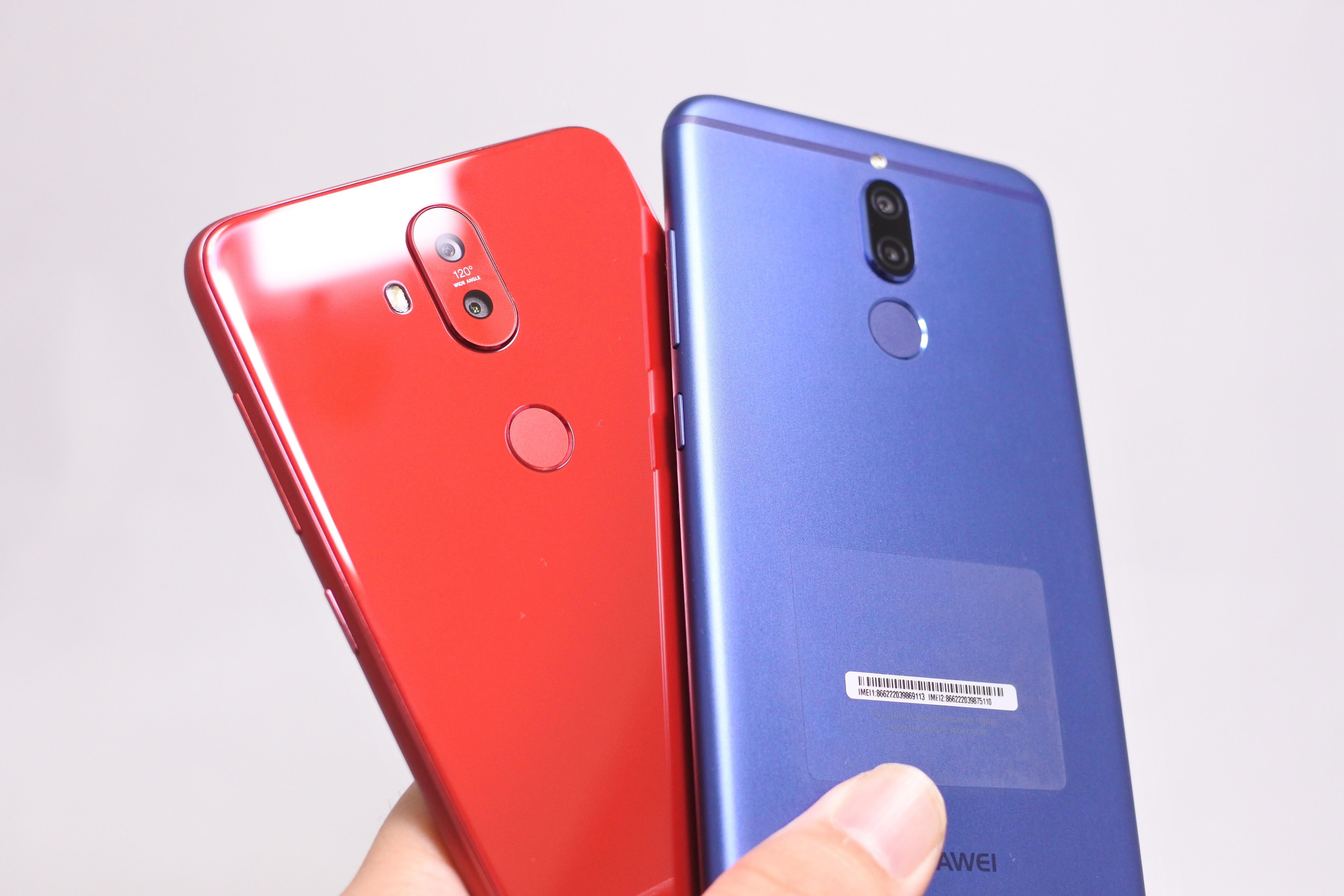 ZenFone 5QとMate 10 liteはどちらが良いのか違いを比較!