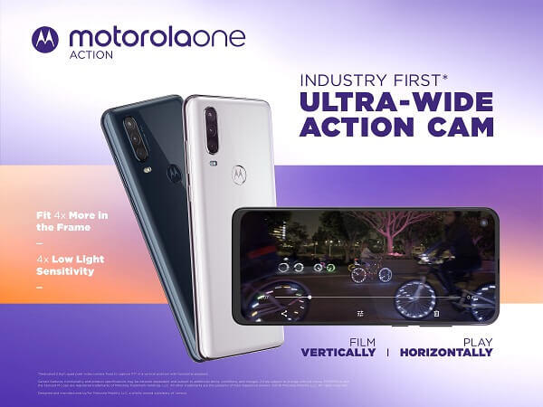 Motorola One Actionの特徴