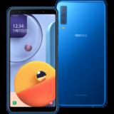 Galaxy A7 ブルー