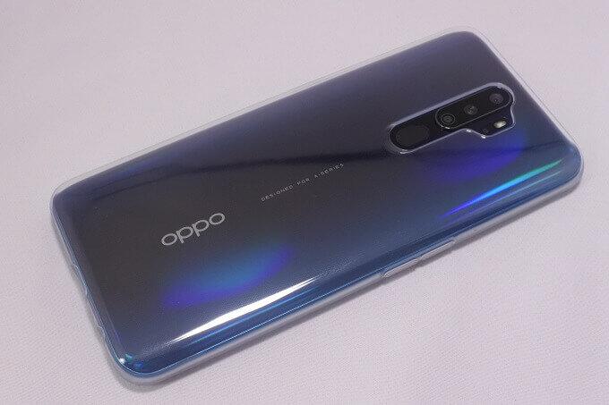 OPPO A5 2020 純正ケースのレビュー