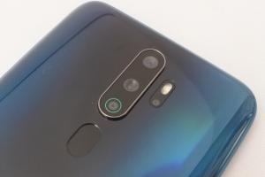 OPPO A5 2020のクアッドカメラ