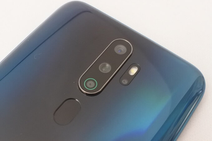 OPPO A5 2020のカメラ性能