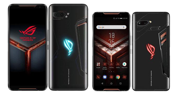 ROG Phone 2とROG Phoneの比較画像