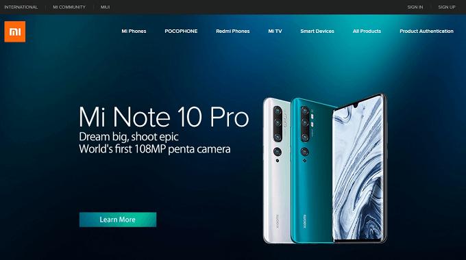 Xiaomiはどこの国のメーカーなの?