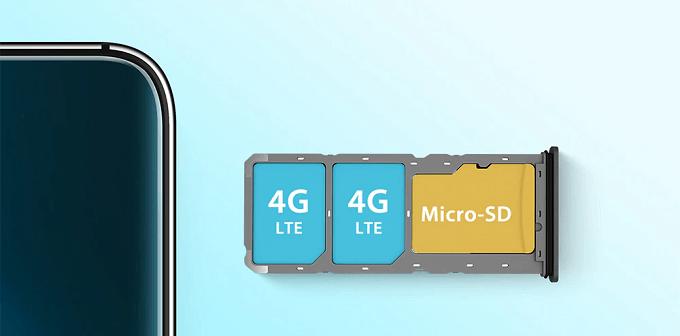 UMIDIGI A7 Proはトリプルスロットに対応