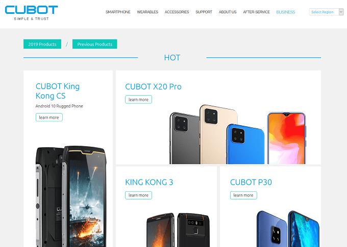 CUBOTはどこの国のメーカーなの?