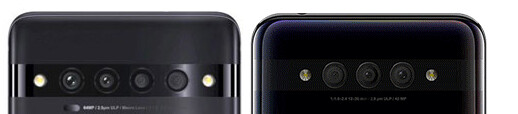 TCL 10 Proは4眼のクアッドカメラ搭載