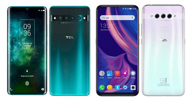 TCL 10 ProとTCL PLEXの比較画像