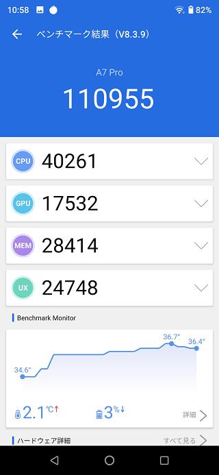 UMIDIGI A7 Pro AnTuTu