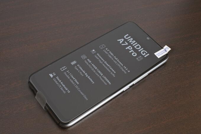 UMIDIGI A7 Proの外観レビュー4