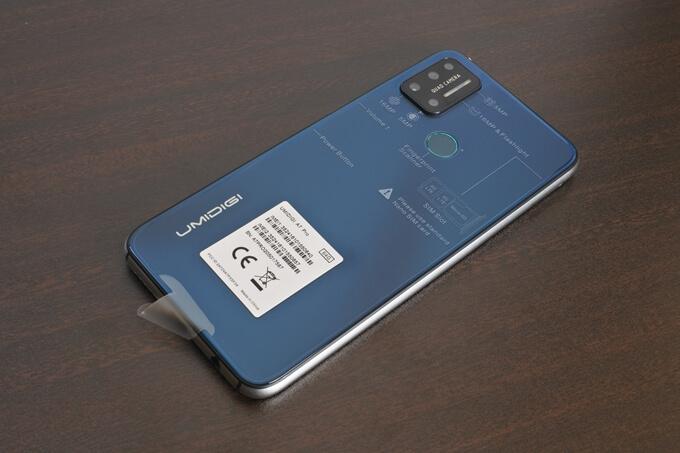 UMIDIGI A7 Proの外観レビュー7