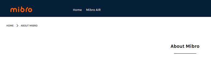Mibroはどこの国のメーカーなの?