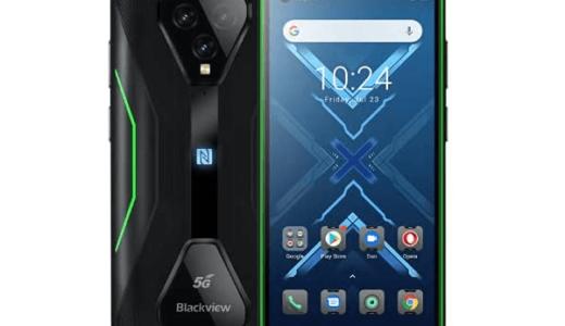 5G対応のタフネスゲーミングスマホ「Blackview BL5000」のスペック情報まとめ